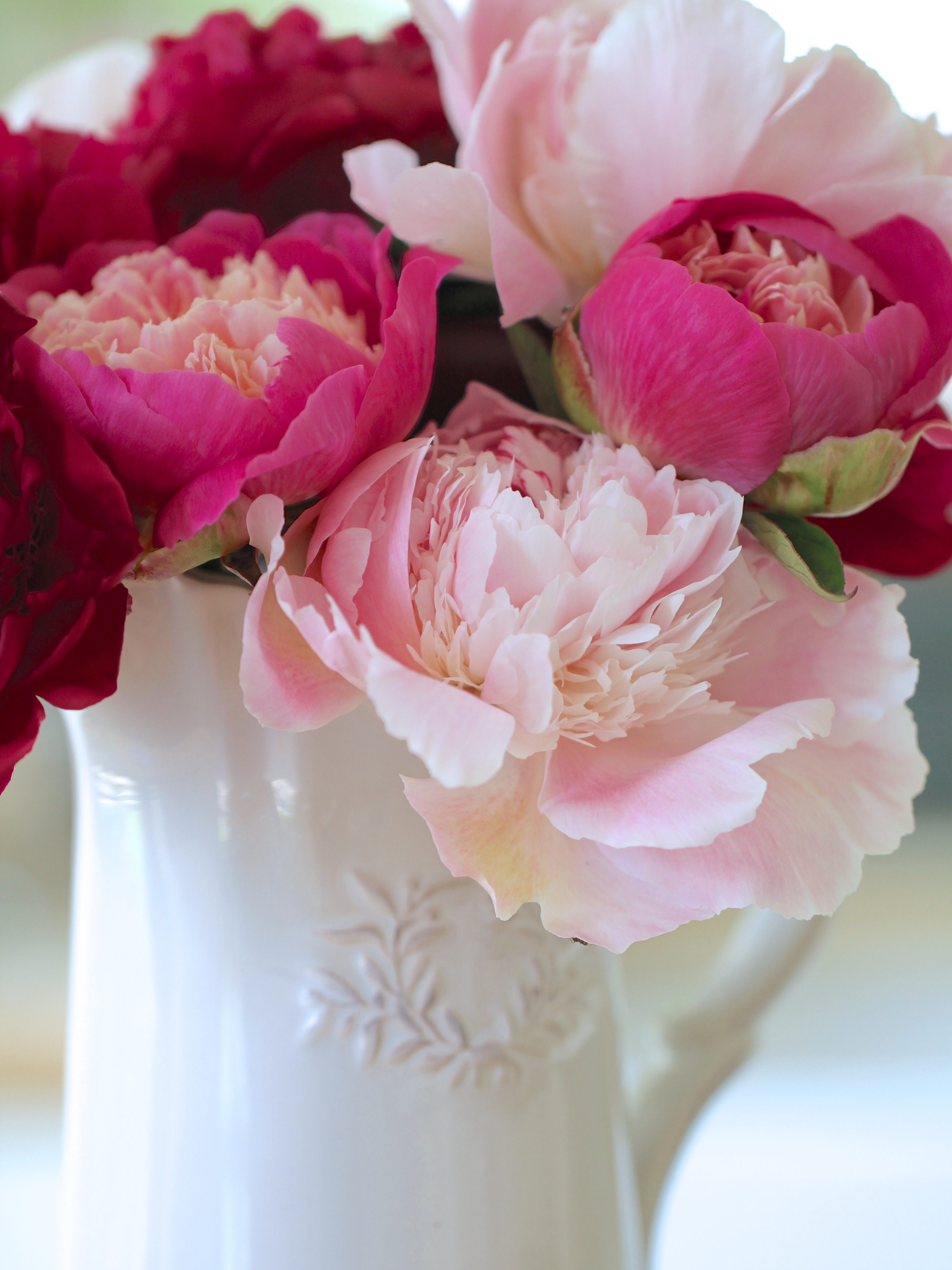 In A Vase On Monday My Perfect Peoniesindulging Floral