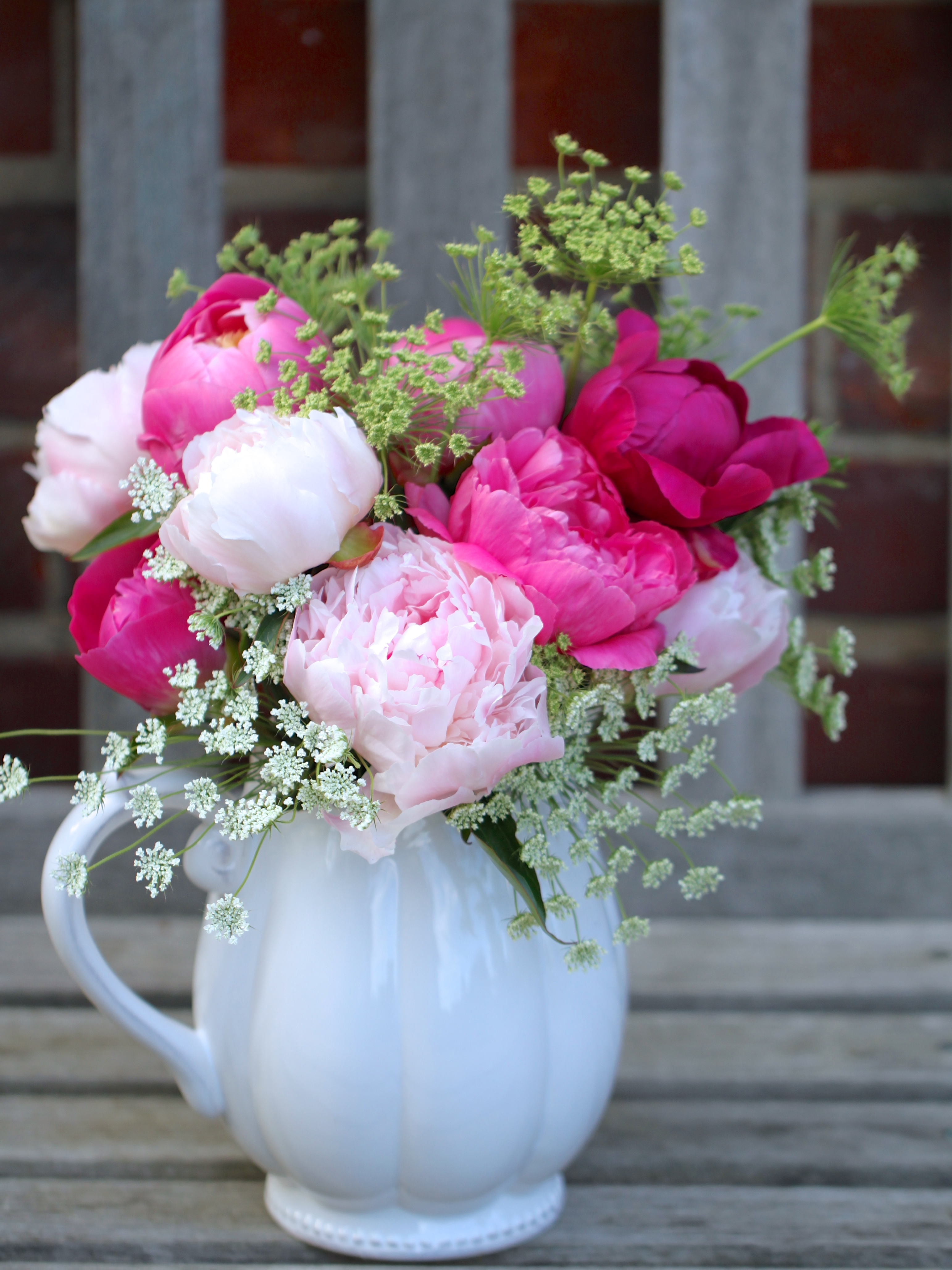 In a vase on monday british flowers week peonies posies peonies british flower week reviewsmspy
